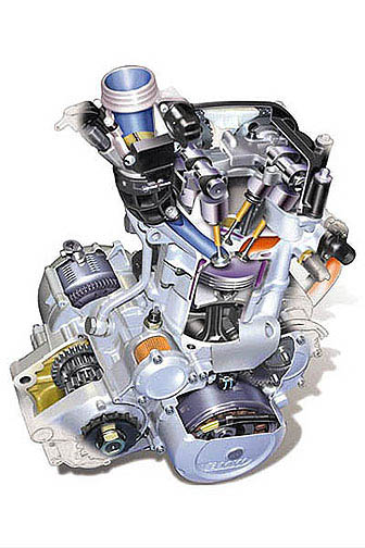 fuel injected f650 cutaway drawing